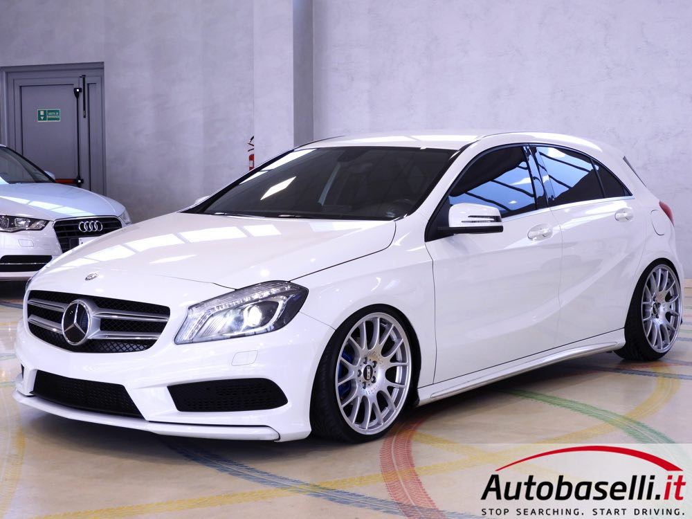 mercedes a 180 cdi premium amg interni in pelle alcantara fari bi xeno ils cerchi bbs 19. Black Bedroom Furniture Sets. Home Design Ideas