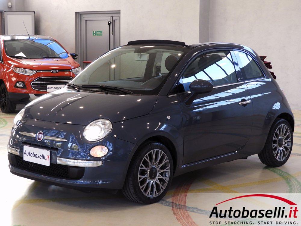 Fiat 500c 0 9 Twinair Lounge Automatica Autobaselli It