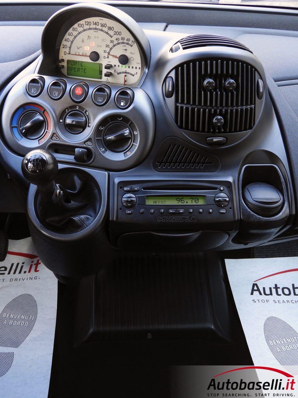 Bb Fiat Multipla Metano Strum