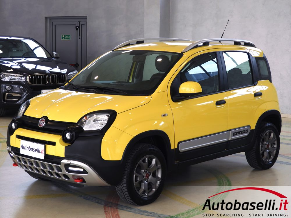 fiat panda cross 1 3 mjt 4x4 80 cv pelle trazione. Black Bedroom Furniture Sets. Home Design Ideas