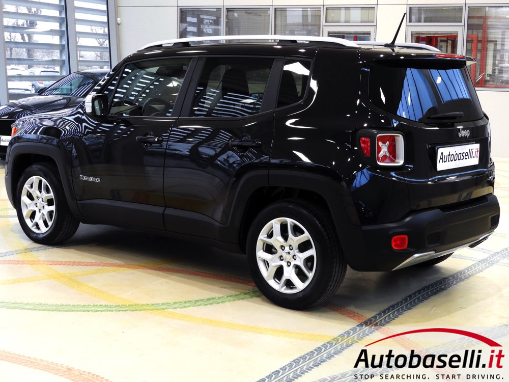Jeep Renegade Limited >> JEEP RENEGADE 1.6 MJT LIMITED Bluetooth + Cerchi in lega ...
