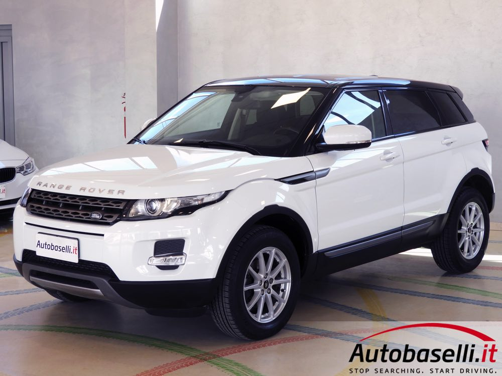 range rover evoque 2 2 td4 150 cv 5 porte pelle bluetooth cruise control radio cd cerchi. Black Bedroom Furniture Sets. Home Design Ideas
