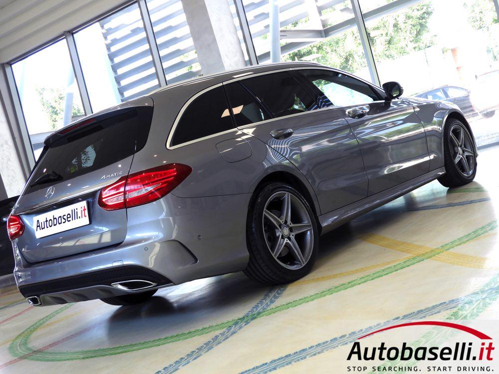 Mercedes Benz Classe C Station Wagon 250 D 204cv 4matic
