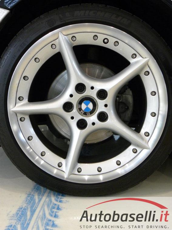 Bmw Z4 2 5 I Cabrio Pelle Rossa Navi Cd Clima Dtc Pdc Frangivento Cerchi