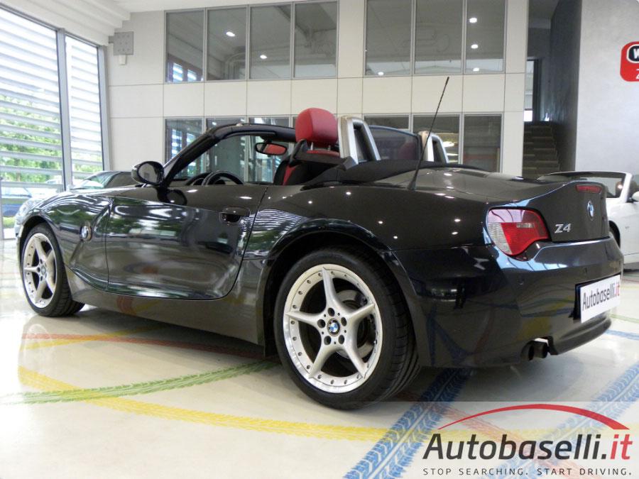 Bmw Z4 2 5 I Cabrio Pelle Rossa Navi Cd Clima