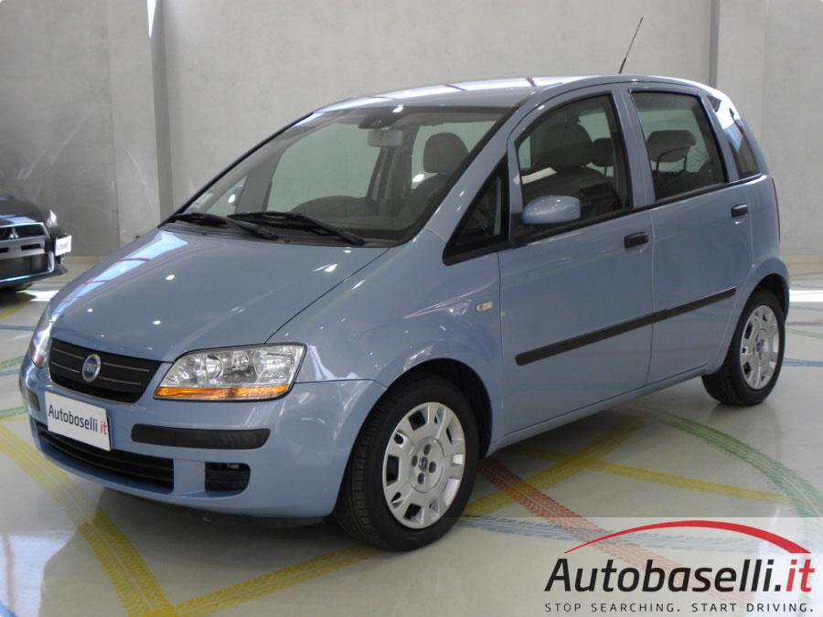 Fiat idea 1 4 servosterzo city abs climatizzatore for Consumo del fiat idea 1 4