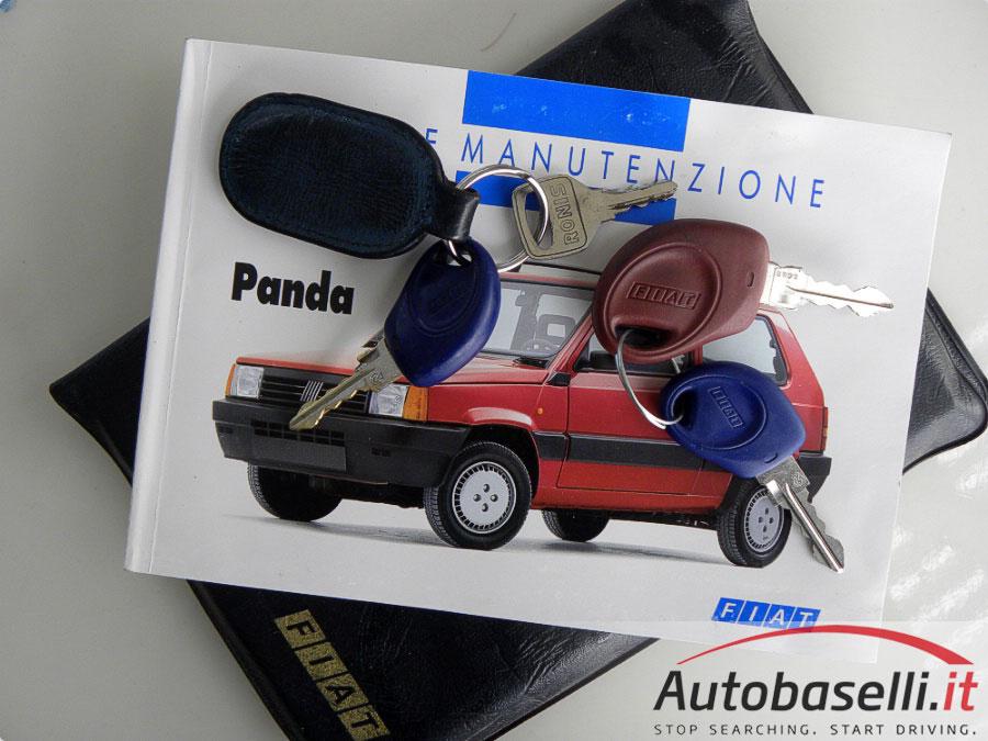 fiat panda 900 young gancio traino + 4 gomme nuove + ruotino +