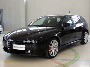 alfa romeo 159 sportwagon 2 0 jtd m 170 cv distinctive ti navigatore touchscreen sedili sport. Black Bedroom Furniture Sets. Home Design Ideas