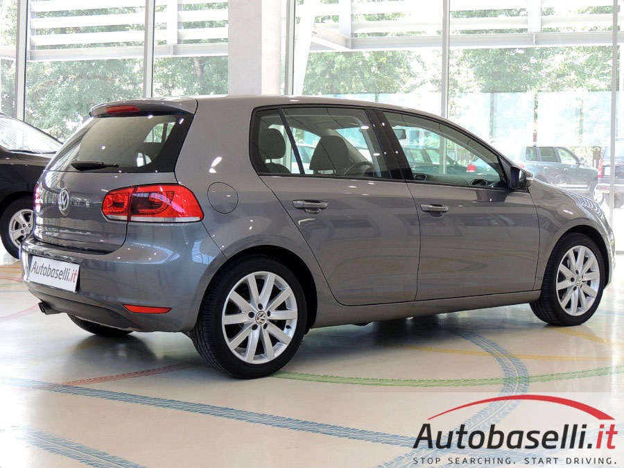 volkswagen golf vi 2 0 tdi highline 140cv garanzia volkswagen estesa sino al 2016 alcantara. Black Bedroom Furniture Sets. Home Design Ideas