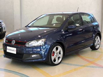 volkswagen nuova polo 1 4 tsi gti 180 cv dsg cambio automatico xeno led climatronic. Black Bedroom Furniture Sets. Home Design Ideas
