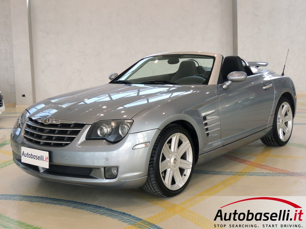chrysler crossfire roadster 3 2 v6 18v limited automatica cambio automatico interni in pelle. Black Bedroom Furniture Sets. Home Design Ideas