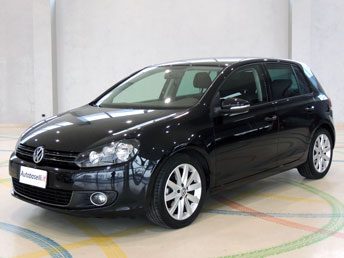 volkswagen golf vi 1 6 tdi 105 cv highline dsg cambio. Black Bedroom Furniture Sets. Home Design Ideas