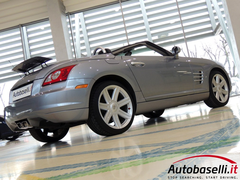 chrysler crossfire roadster 3 2 v6 limited cambio automatico interni in pelle capotte elett. Black Bedroom Furniture Sets. Home Design Ideas