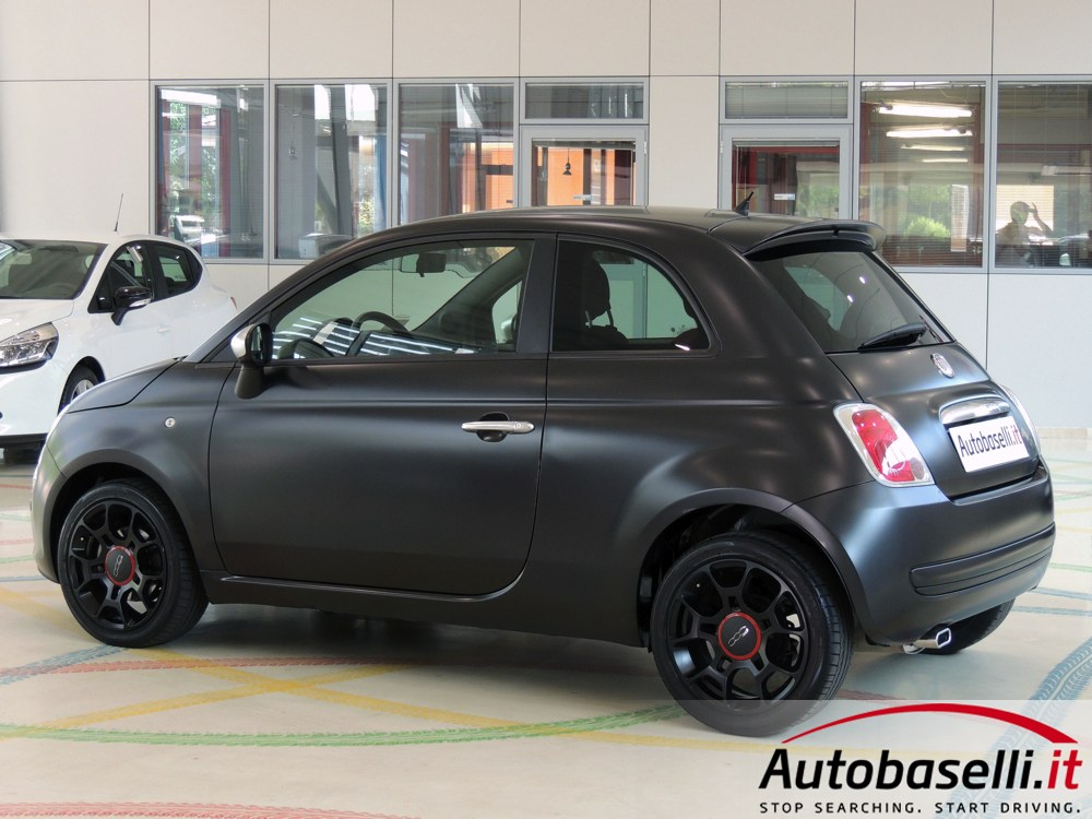 Fiat 500 1 3 Multijet Limited Edition Black Jack Interni In