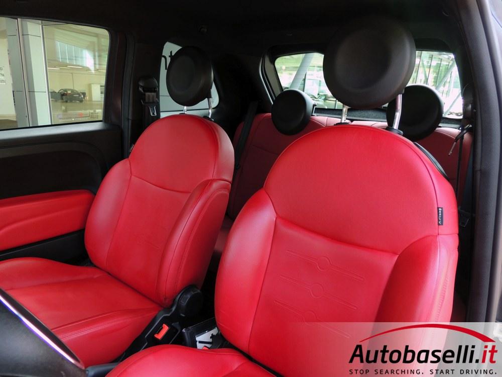Fiat 500 1 3 Multijet Limited Edition Black Jack Interni In