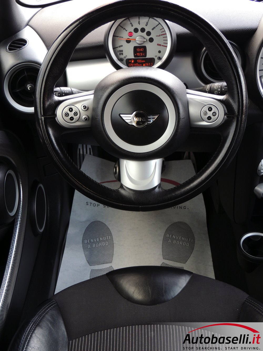 mini cooper s 1 6 chili 175 cv pelle sport switch. Black Bedroom Furniture Sets. Home Design Ideas