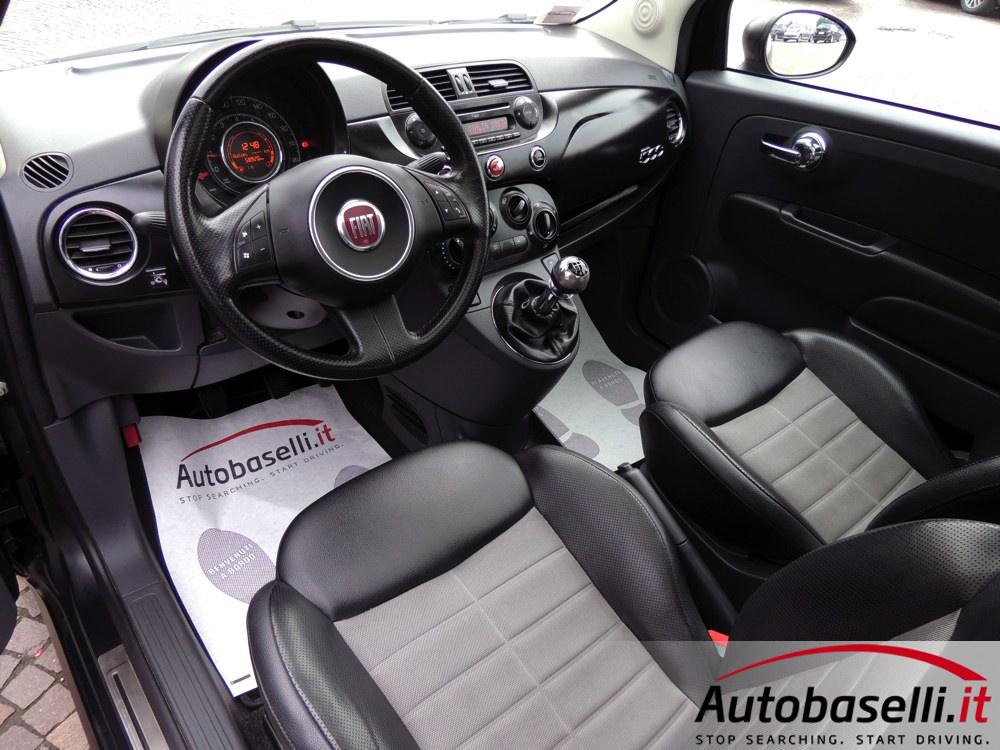 Fiat 500 1 4 16v Lounge 100 Cv Impianto Gpl Pelle Tetto Panoramico
