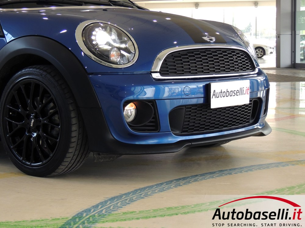 mini cooper coupe 39 1 6 pack jcw fari bi xeno cruise. Black Bedroom Furniture Sets. Home Design Ideas