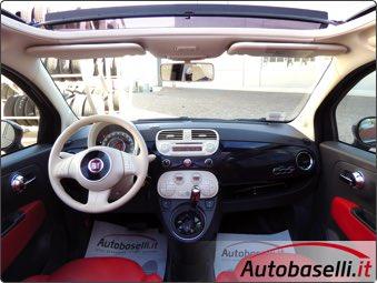 Fiat 500 C 1 2 Lounge Dualogic Cambio Automatico Interni In Pelle