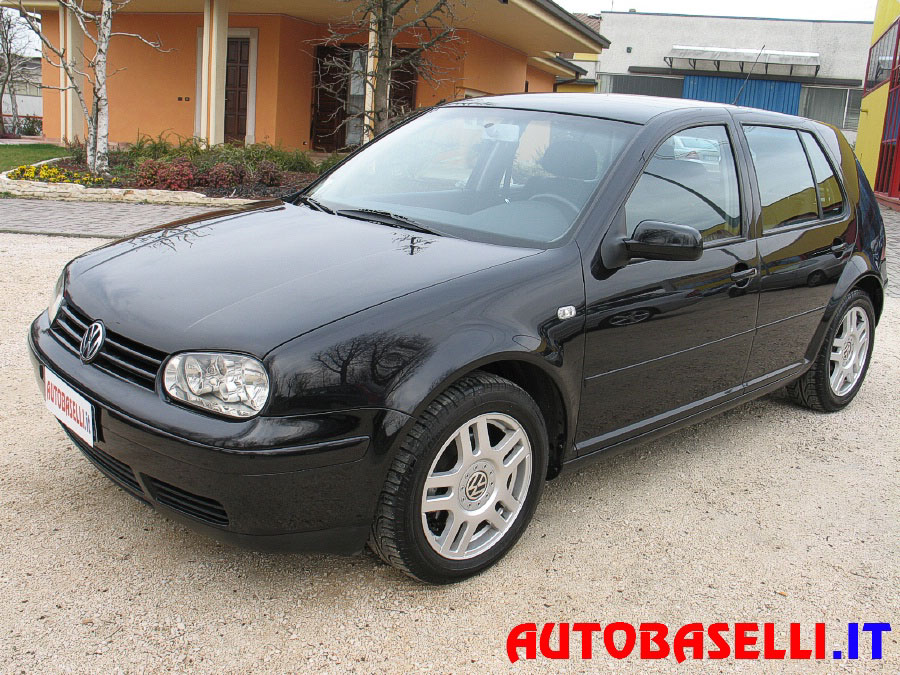 volkswagen golf 1 9 tdi 110cv highline 5p climatronic pc cd cerchi abs 4xair. Black Bedroom Furniture Sets. Home Design Ideas
