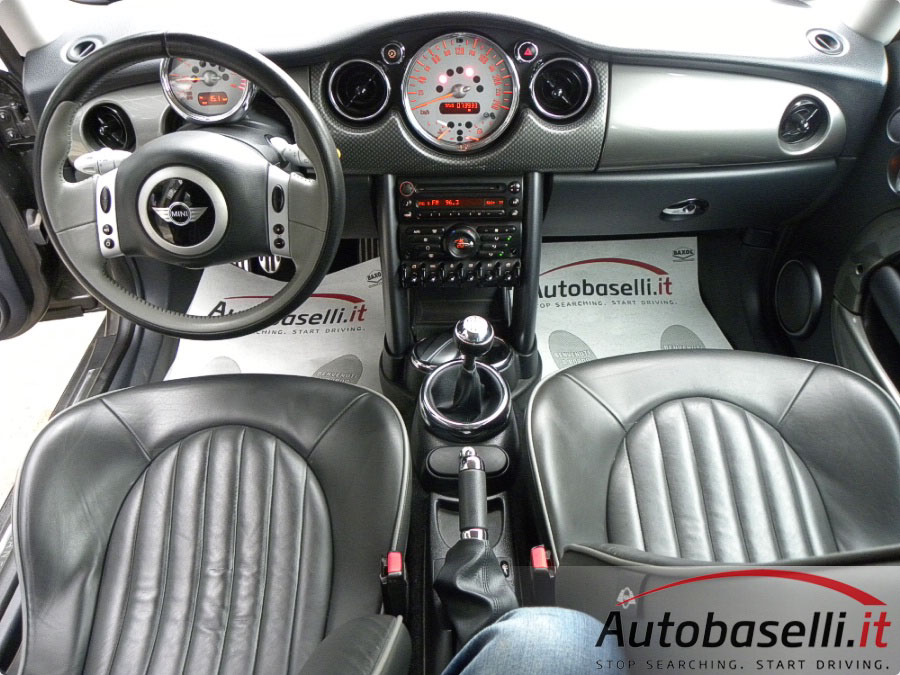 mini cooper s 170cv mod restyling 6m park lane cerchi r17 pc cd pelle totoale dsc. Black Bedroom Furniture Sets. Home Design Ideas