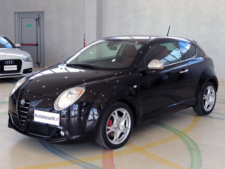 alfa romeo mito 1 4 turbo benzina 155 cv distinctive sport. Black Bedroom Furniture Sets. Home Design Ideas