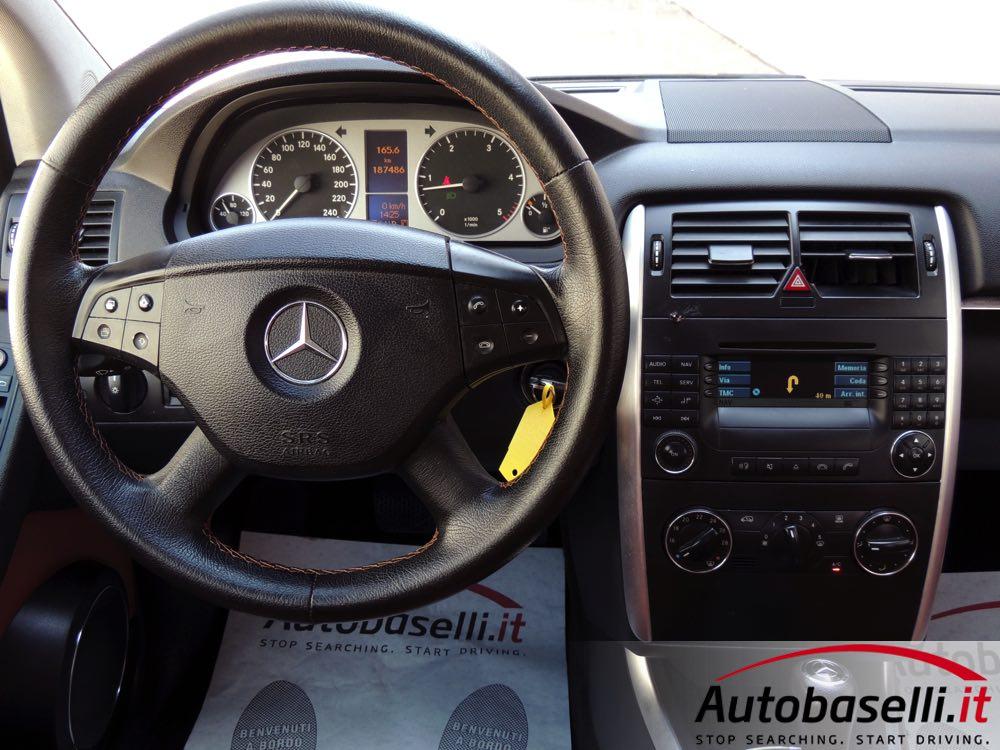 Mercedes b 180 cdi 39 39 avantgarde 39 39 cambio automatico for Interno b 187