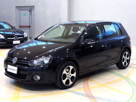 volkswagen golf 6 2 0 tdi 140 cv highline alcantara. Black Bedroom Furniture Sets. Home Design Ideas
