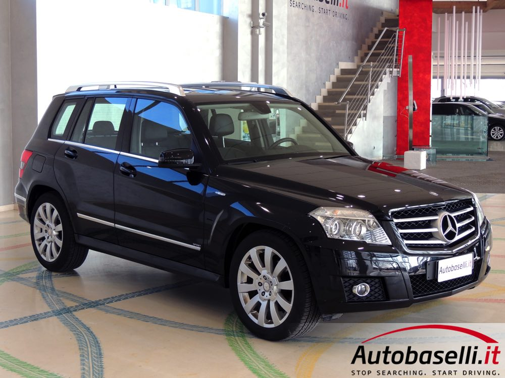 mercedes glk 250 cdi bluerfficiency 4matic sport cambio automatico pad pelle trazione. Black Bedroom Furniture Sets. Home Design Ideas