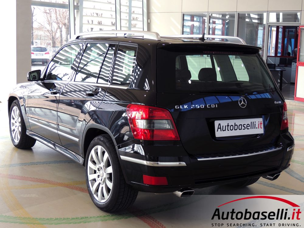 mercedes glk 250 cdi bluerfficiency 4matic sport cambio. Black Bedroom Furniture Sets. Home Design Ideas